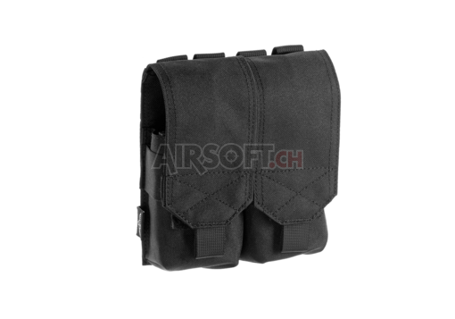 5.56 2x Double Mag Pouch Black (Invader Gear)