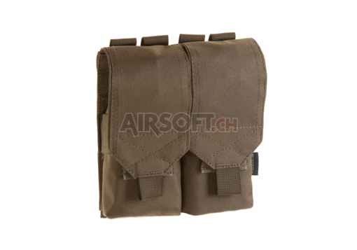 5.56 2x Double Mag Pouch Ranger Green (Invader Gear)