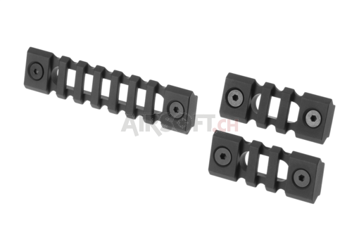 Keymod Rail Sections Black (Trinity Force)