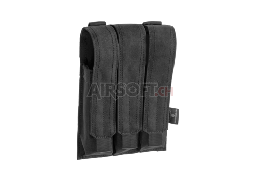 MP5 Triple Mag Pouch Black (Invader Gear)