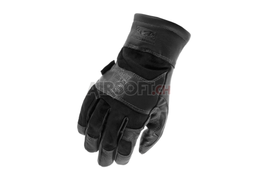 TAA Leather Gauntlet Glove Black (Mechanix Wear) M