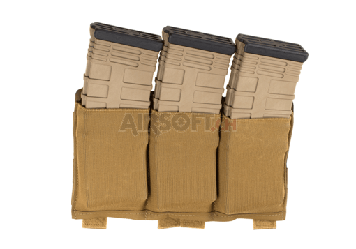 Ten-Speed Triple M4 Mag Pouch Coyote (Blue Force Gear)