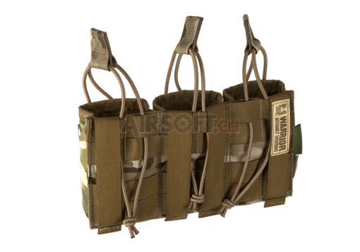 Triple Open Mag Pouch AK 7.62mm Multicam (Warrior)